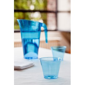 Jarra Plástico Turquesa Reutilizable 1.500 ml (20 Unidades)