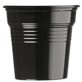 Vaso de Plástico PS Negro 80ml Ø5,7cm (1500 Uds)