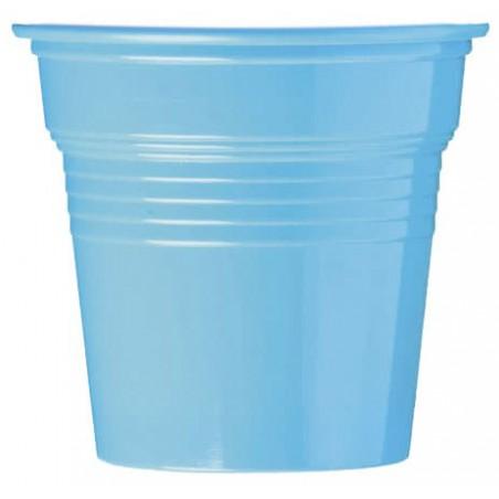 Vaso de Plástico PS Azul Claro 80ml Ø5,7cm (750 Uds)
