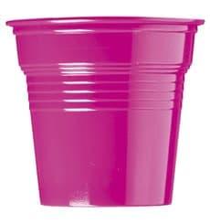 Vaso de Plástico PS Fucsia 80ml Ø5,7cm (750 Uds)