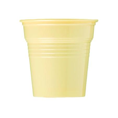 Vaso de Plástico PS Crema 80ml Ø5,7cm (1500 Uds)