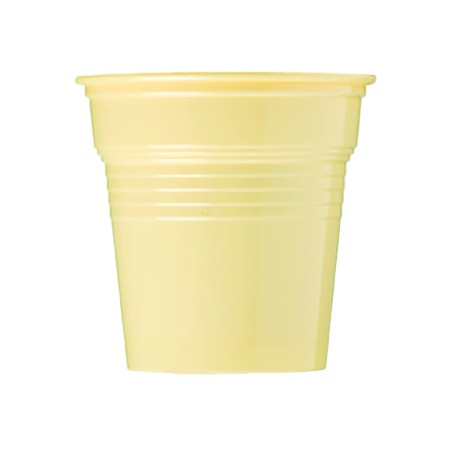 Vaso de Plástico PS Crema 80ml Ø5,7cm (50 Uds)