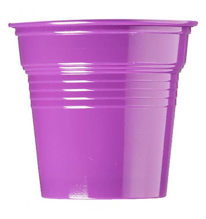 Vaso de Plástico PS Violeta 80ml Ø5,7cm (1500 Uds)