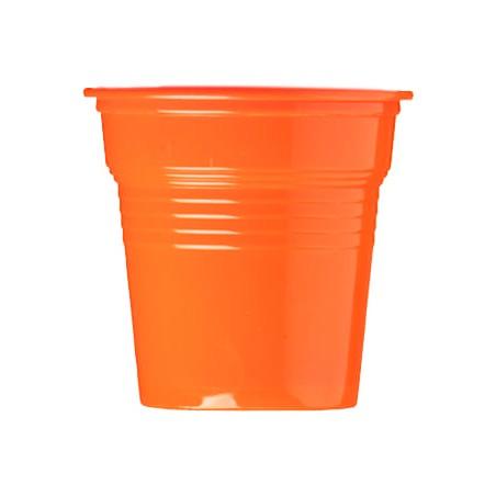 Vaso de Plástico PS Naranja 80ml Ø5,7cm (1500 Uds)