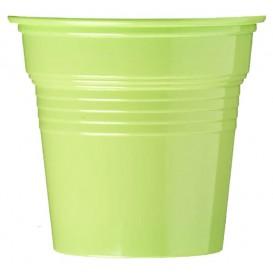 Vaso de Plástico PS Verde Lima 80ml Ø5,7cm (1500 Uds)