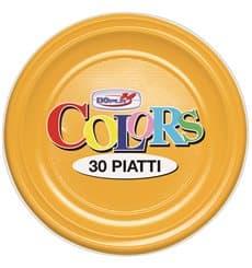 Plato de Plastico PS Llano Mango 220 mm (30 Uds)