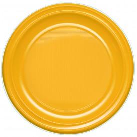 Plato de Plastico PS Llano Mango 220 mm (780 Uds)