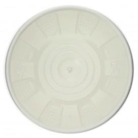 Tarrina de Cartón Blanco con Tapa PP 488ml (25 Uds)