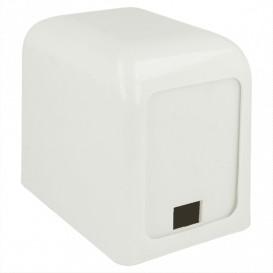 Dispensador Miniservis Plástico Blanco 15x10x12,5cm (12 Uds)