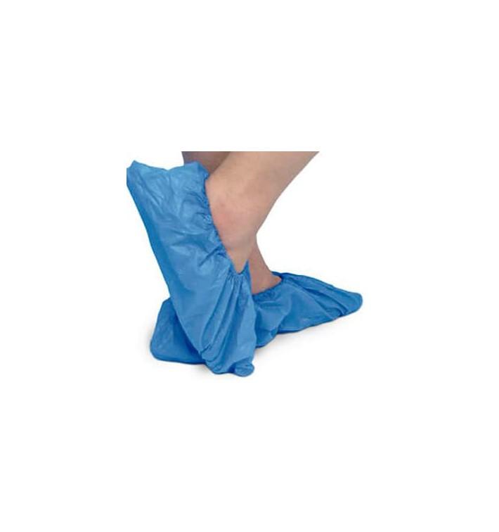 Cubrezapatos TST de PP Azul con Suela Reforzada CPE Azul (500 Uds)