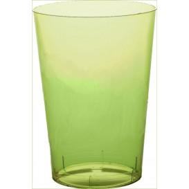 Vaso de Plastico Moon Verde Lima Transp. PS 350ml (400 Uds)