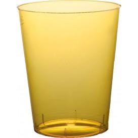 Vaso de Plastico Moon Amarillo Transp. PS 350ml (400 Uds)