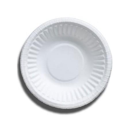 Bol de Papel Blanco Biodegradable 250ml (50 Uds)