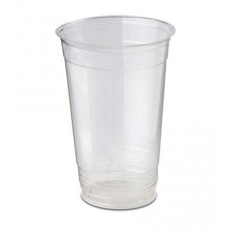 Vaso de Plastico PS Verde Anís 100ml (25 Uds)