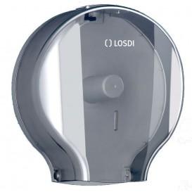 Dispensador Papel Higiénico 300m ABS Fumé (1 Ud)