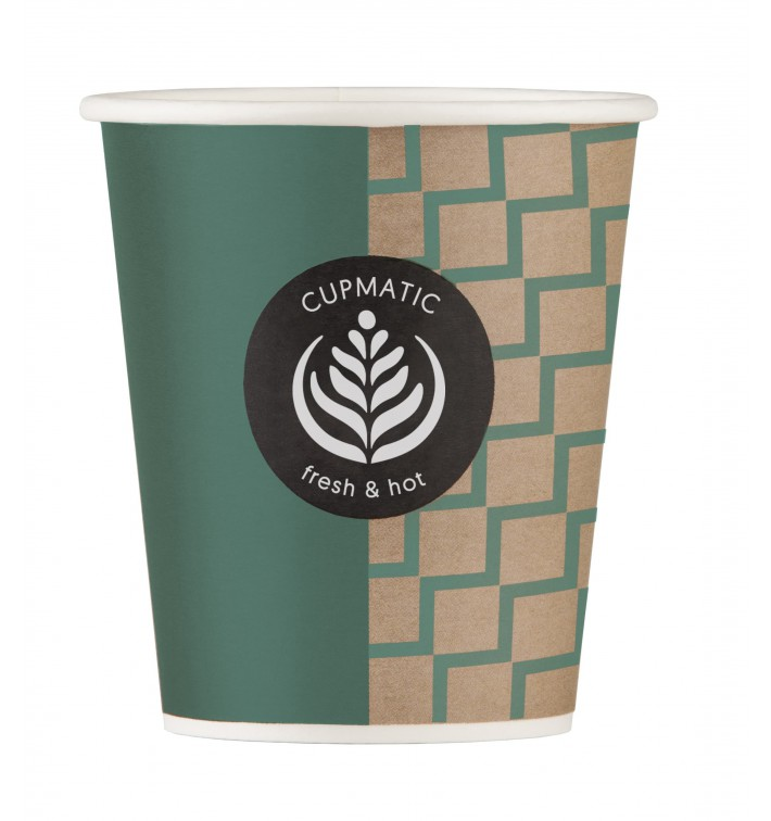 Vaso Carton Cupmatic 9Oz/280ml Ø8,0cm (1000 Uds)