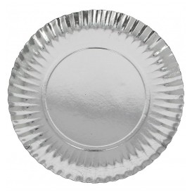 Plato de Carton Redondo Pleateado 120 mm (1600 Uds)