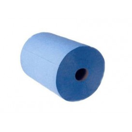 Bobina Secamanos Chemine 2C 1,1 Kg Azul Gofrada (6 Uds)
