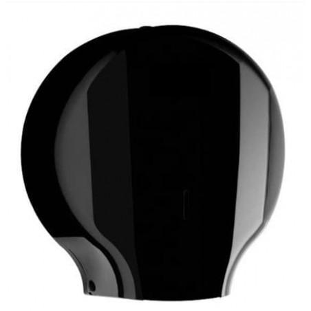 Dispensador Papel Higiénico 300m ABS Negro (1 Ud)