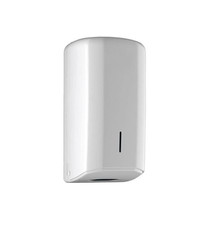 Dispensador Papel Higiénico Interplegado Z ABS Blanco (1 Ud)