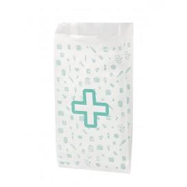 Bolsa de Papel Blanca Farmacia 14+7x27cm (1000 Uds)