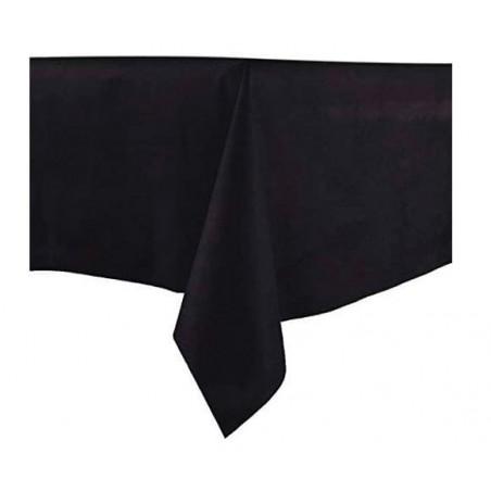 Mantel no Tejido Novotex Cortado 100x100cm Negro (150 Uds)