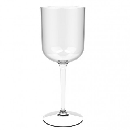 "Copa Reutilizable Vino ""Bio Based"" Tritan Transp. 420ml (6 Uds)"