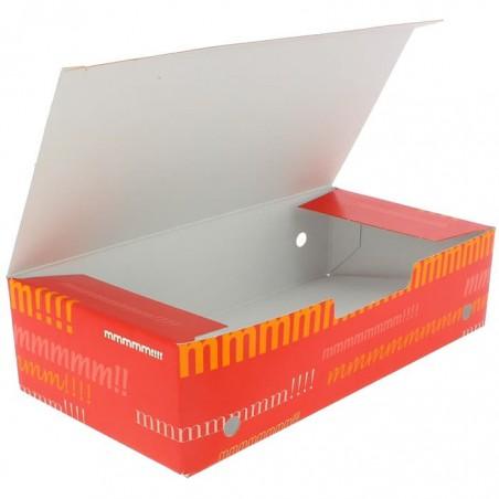 Caja Comida para Llevar Grande 200x100x50mm (375 Uds)