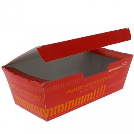 Caja Comida para Llevar 16,5x7,5x6cm (25 Uds)
