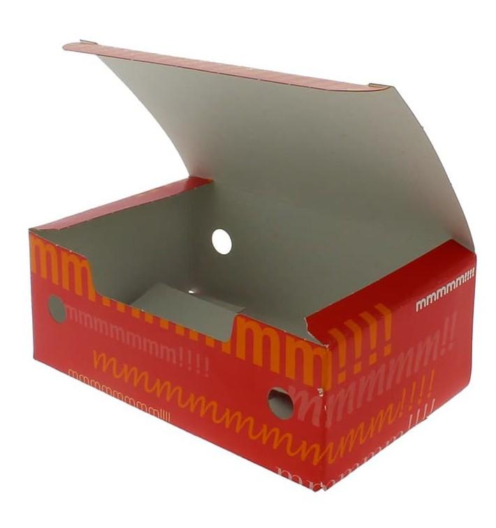 Caja Comida para Llevar Pequeña 115x72x43mm (25 Uds)