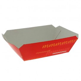 Barqueta 250ml Cartoncillo 9,6x6,5x4,2cm (1000 Uds)
