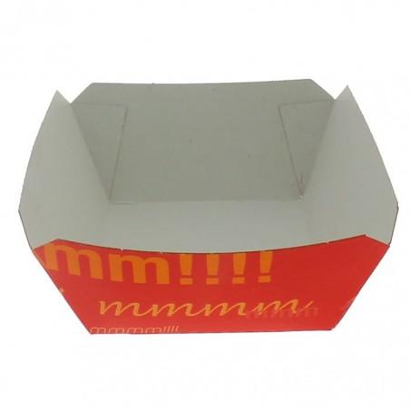 Barqueta 250ml Cartoncillo 9,6x6,5x4,2cm (25 Uds)