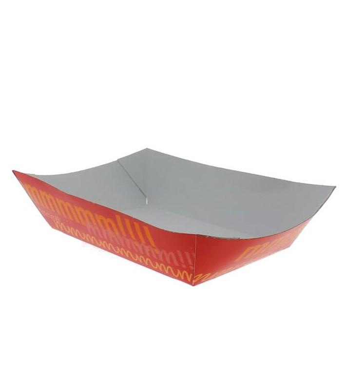Barqueta 300ml Cartoncillo 11,0x7,0x3,5cm (25 Uds)