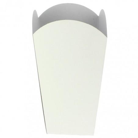 Caja para Palomitas Mediana Blanca 90gr 7,8x10,5x18cm (50 Uds)
