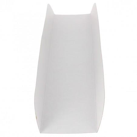 Bandeja Carton Abierta 30x6,1x3,2cm.Rosa (1000 Uds)