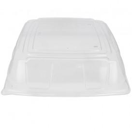 Tapa Plastico PET Transparente Bandeja 36x36cm (25 Uds)