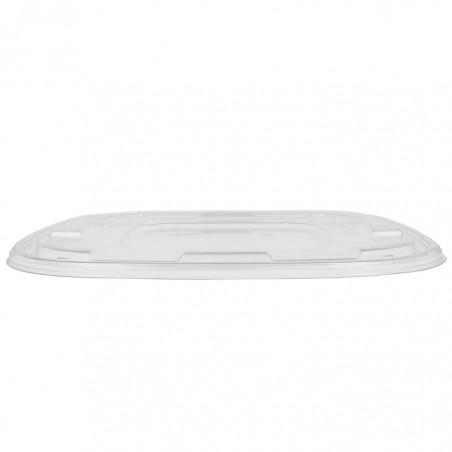 Tapa Plastico PET Transparente para Bol 36x36cm (5 Uds)