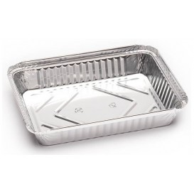 Bandeja Aluminio 1000ml 230X175x34mm (125 Uds)