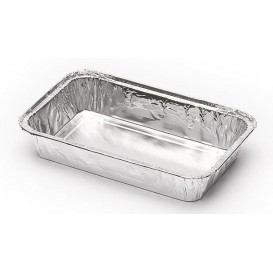 Bandeja de Aluminio 185x120mm 470ml (1300 Uds)