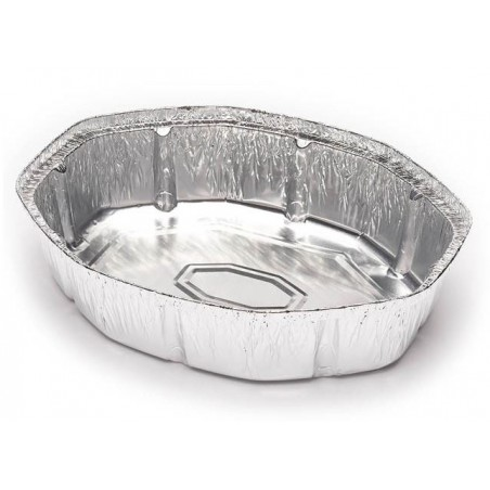 Bandeja de Aluminio 250x200mm 1900ml (125 Uds)