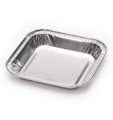 Envase de Aluminio Cuadrado Pastelería 37ml (100 Uds)