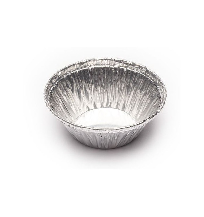Envase de Aluminio Redondo Pasteleria 25ml (5000 Uds)