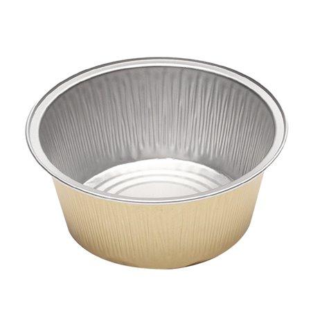 Envase de Aluminio Redondo Pared Lisa 135ml (166 Uds)