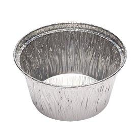 Envase de Aluminio Redondo Pasteleria 110ml (100 Uds)