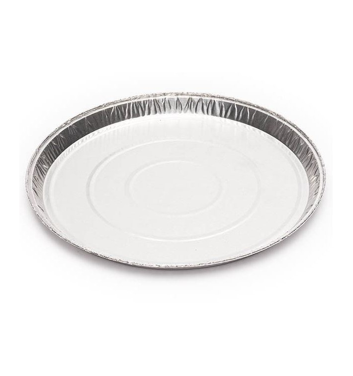 Envase de Aluminio Redondo 200mm 240ml (1500 Uds)