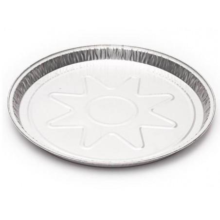Envase de Aluminio Redondo 250mm 790ml (150 Uds)