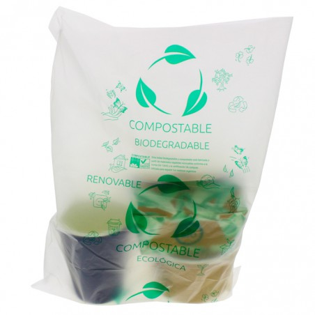 Bolsa Plastico 100 % Biodegradable Block 30x40cm G50 (300 Uds)