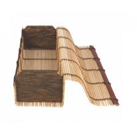 Envase de Bambú para Sushi 23x8x6cm (1 Ud)