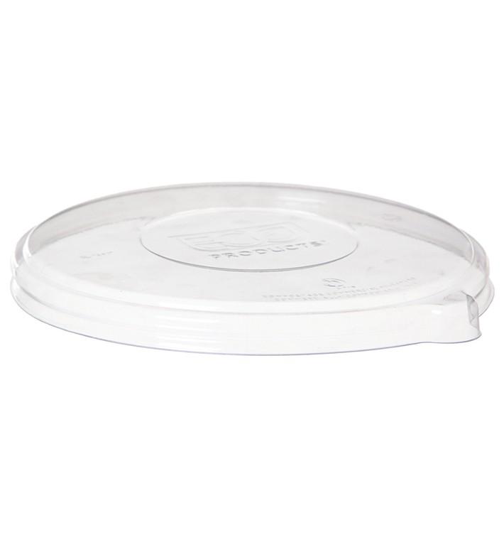 Tapa Compostable PLA Transparente Bol 470 y 1360ml (50 Uds)