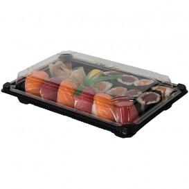 Envase para Sushi PLA Negro 13,0X18,0 cm (600 Uds)